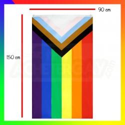 Drapeau Inclusif LGBT+