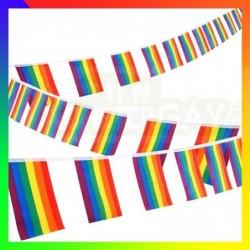 Guirlande de drapeaux LGBT