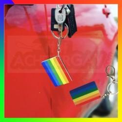 Porte-clé LGBT Plaque rainbow