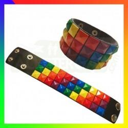 Bracelet Damier Rainbow