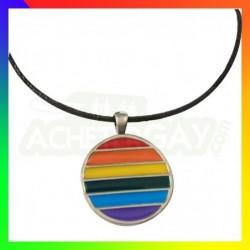 Pendentif Cercle Rainbow