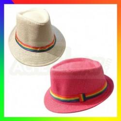 Chapeau Ruban Rainbow