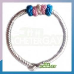 Bracelet Tressé Transsexuel