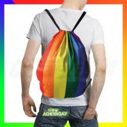 Sac LGBT en toile Rainbow