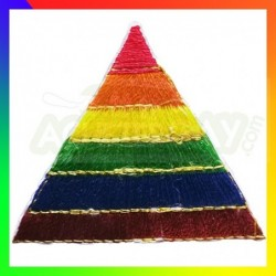 Patch LGBT triangle Rainbow