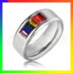 Bague Rainbow Pierres