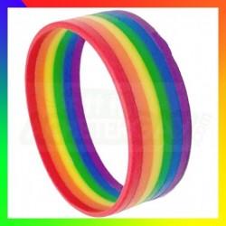 bracelet silicone gay pride