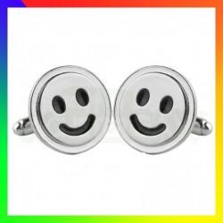 Boutons de manchettes Smiley