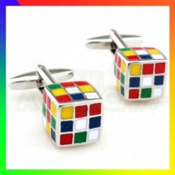 Boutons de manchettes Rubik...