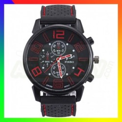 Montre Pinbo Rouge