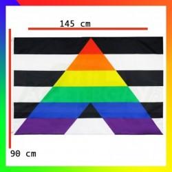 Drapeau des alliés LGBT