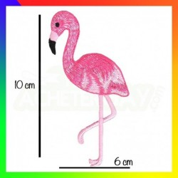 patch thermocollant flamand rose