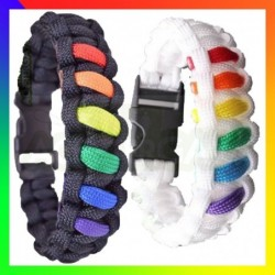 Bracelet Paracord Rainbow