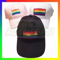 casquette rainbow