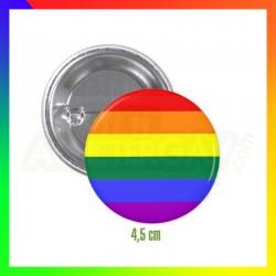 Badge XL Rainbow
