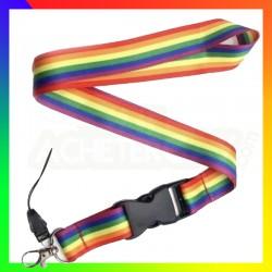 Tour de cou rainbow