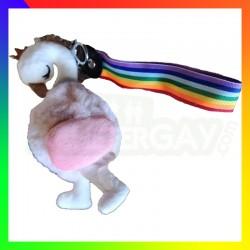 Porte clé Flamingo