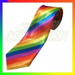 cravate rainbow