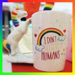 Mug Licorne rainbow
