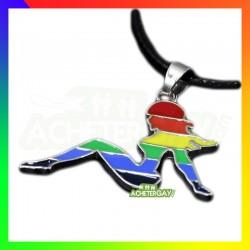 Pin up rainbow