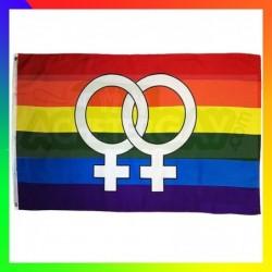 drapeau lesbien