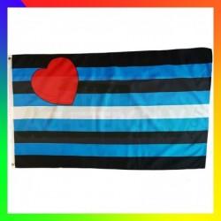 drapeau cuir